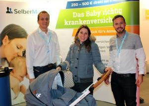 Katrin aus Berlin gewinnt am Stand von SelberMakler den Gesslein F4 Air mit Ledergriff