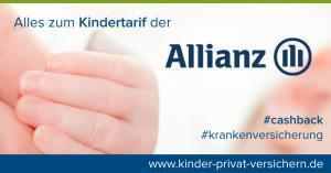 Geld zurück beim Anmelden des Babys bei der Allianz