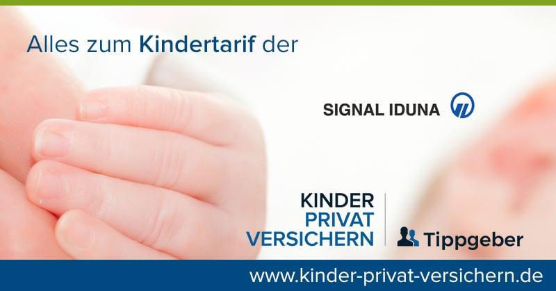 Signal Iduna Kindertarif mit Logo