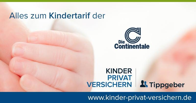 Continentale Baby Anmelden Pkv Kindertarife Mit Cashback
