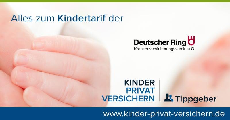 Kindertarife der Deutschen Ring Krankenversicherung