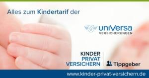 uniVersa Kindertarife mit Cashback