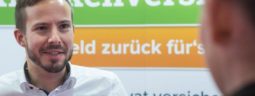 Christoph Huebner von Kinder privat versichern