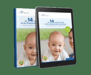Kostenloses eBook: Die 14 teuersten Fehler bei der Kinderkrankenversicherung